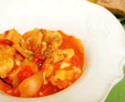 チキンのトマト煮の画像